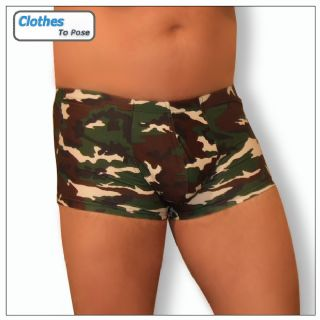 Boxer Shorts - Camouflage - Mens Underwear from Clothes To Pose